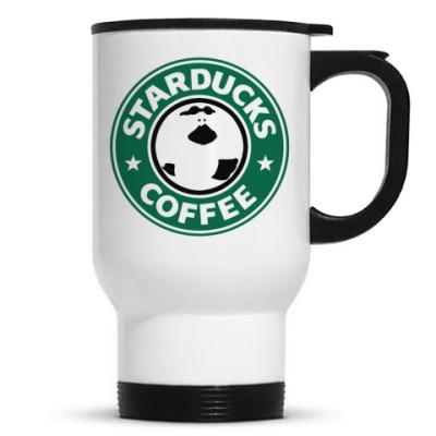 Кружка-термос Уточка любит кофе — STARDUCKS