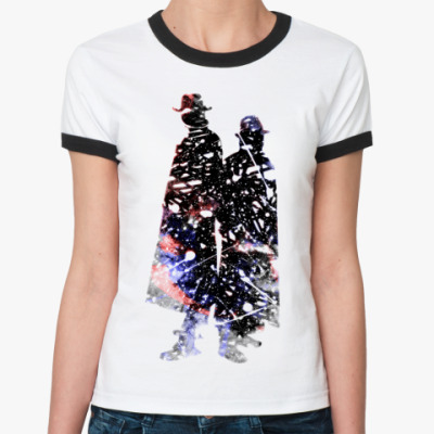Женская футболка Ringer-T Karma Police Ж ()