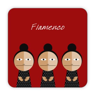 Костер (подставка под кружку) Flamenco