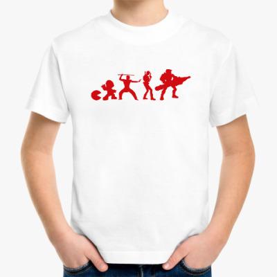 Детская футболка Эволюция игры