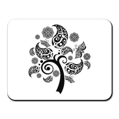 Коврик для мыши  дерево