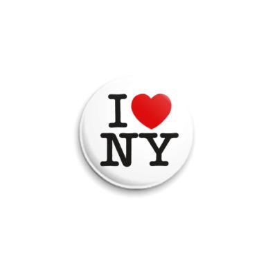 Значок 25мм NY Style