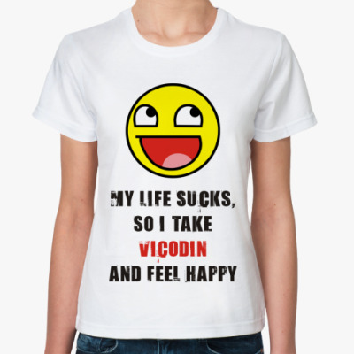Классическая футболка VICODIN