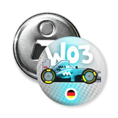 Магнит-открывашка W03