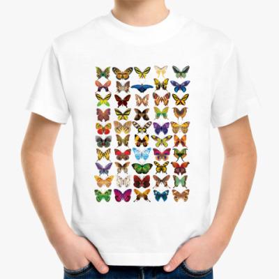 Детская футболка Бабочки