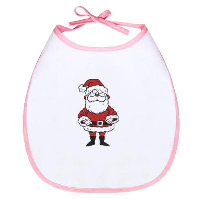 Слюнявчик Дед Мороз!