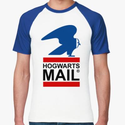 Футболка реглан Harry Potter - Почта Hogwarts