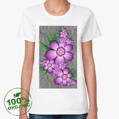 Женская футболка из органик-хлопка нежность