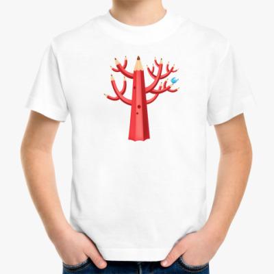 Детская футболка карандаш