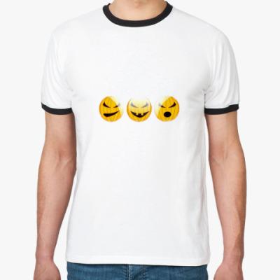 Футболка Ringer-T Pumpkins