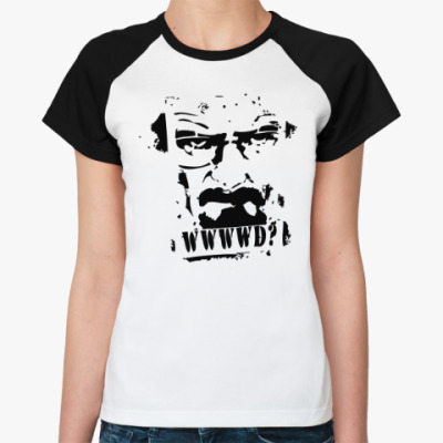 Женская футболка реглан Heisenberg