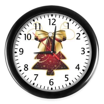 Настенные часы Елочка