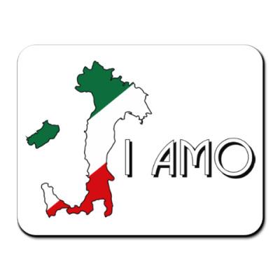 Коврик для мыши Я люблю тебя по-итальянски