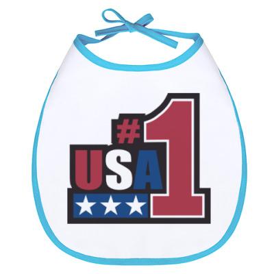Слюнявчик USA 1