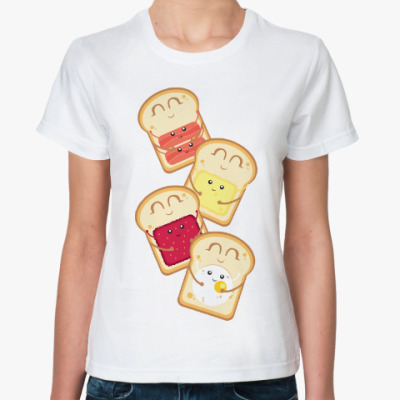 Классическая футболка Бутерброды