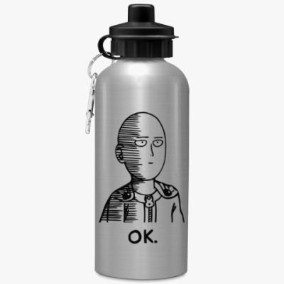 Спортивная бутылка/фляжка One-Punch Man