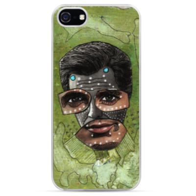 Чехол для iPhone Поп арт портрет