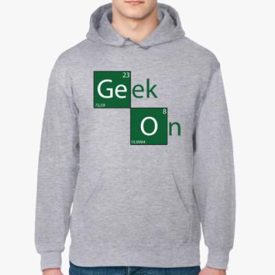 Толстовка худи Geek On