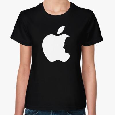 Женская футболка Steve Jobs