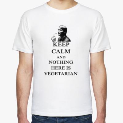 Футболка Nothing Here is Vegetarian