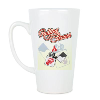 Чашка Латте Rolling Stones