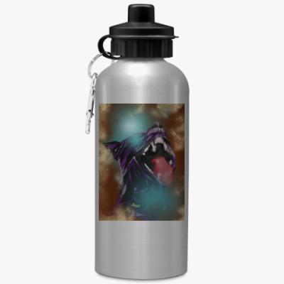 Спортивная бутылка/фляжка Пантера