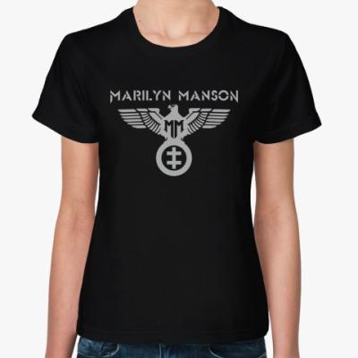 Женская футболка Marilyn Manson
