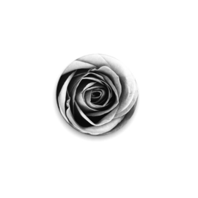 Значок 25мм 'Роза'