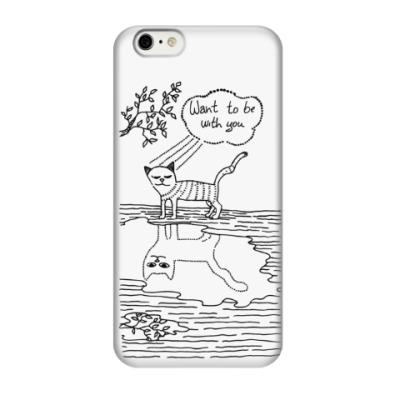 Чехол для iPhone 6 Кот Валентин