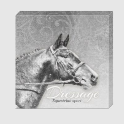 Холст Конный спорт, лошади. Dressage