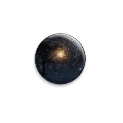 Значок 25мм  Galacsy
