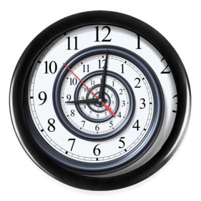 Настенные часы Спираль