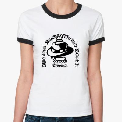 Женская футболка Ringer-T MJ's Hits