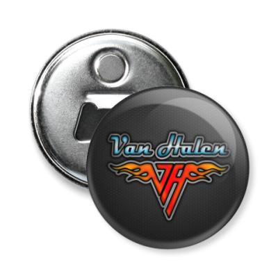 Магнит-открывашка Van Halen