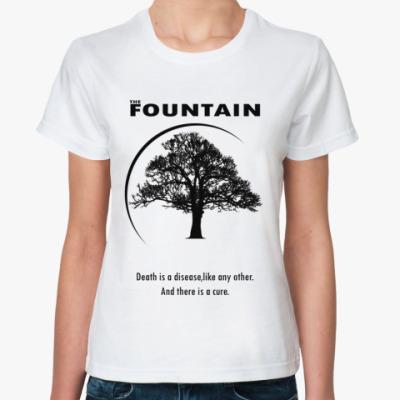 Классическая футболка The fountain