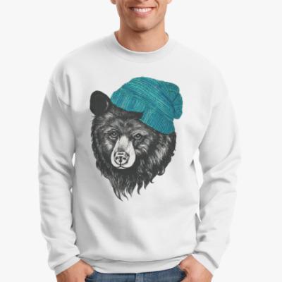Свитшот Медведь в шапке
