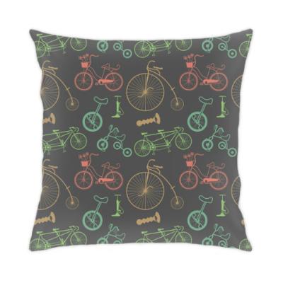 Подушка Велосипеды