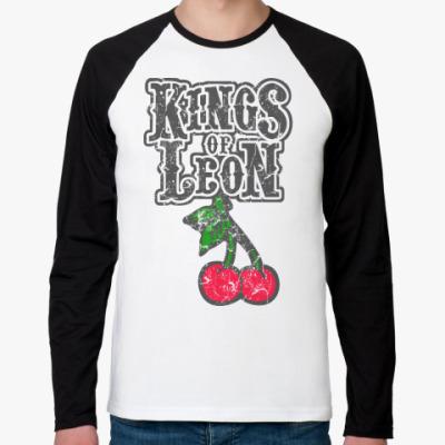 Футболка реглан с длинным рукавом Kings of Leon