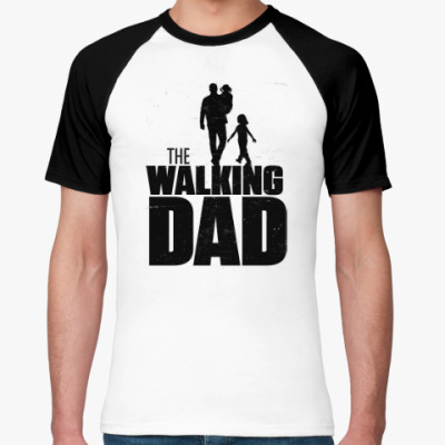 Футболка реглан The Walking Dad