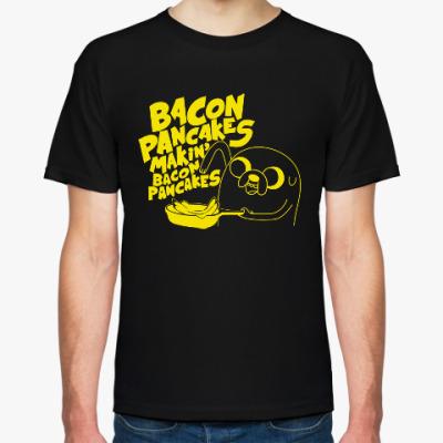 Футболка Jake - Bacon pancakes