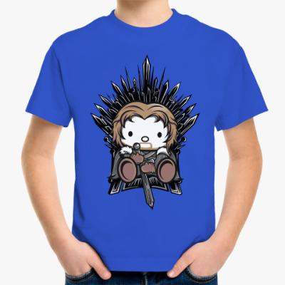 Детская футболка Китти Старк