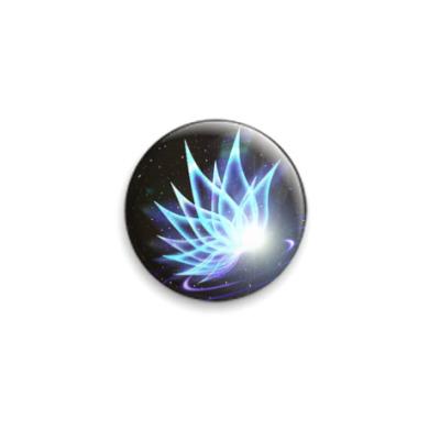 Значок 25мм  Космическая фея