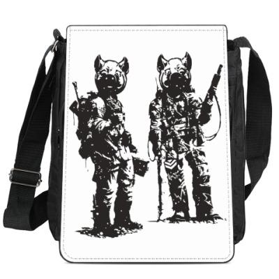 Сумка-планшет War Pigs