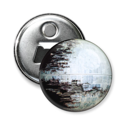 Магнит-открывашка  58 мм Звезда смерти