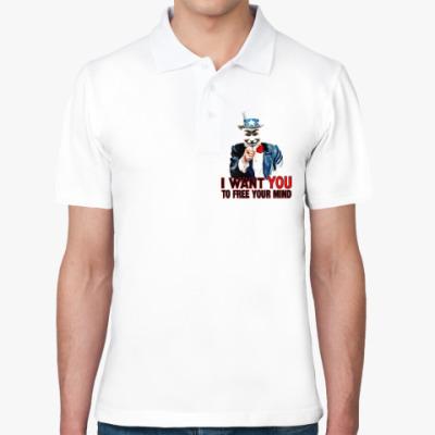 Рубашка поло Anonymous Uncle Sam