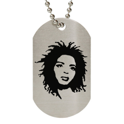 Жетон dog-tag Lauryn Hill