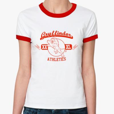 Женская футболка Ringer-T Gryffindor Ring-T жен (б/к)