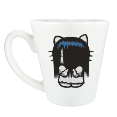 Чашка Латте Китти Звонок