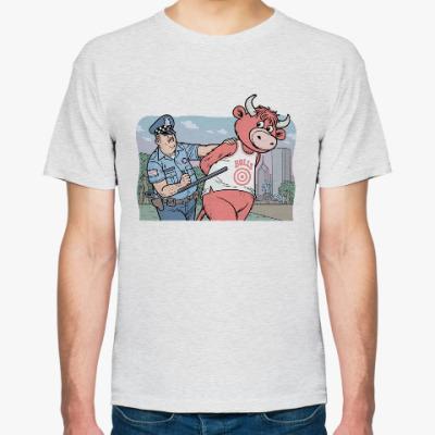 Футболка Полиция против быков