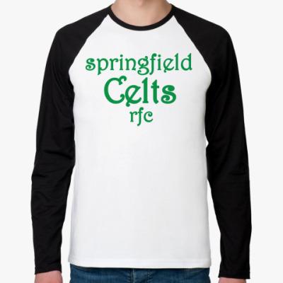 Футболка реглан с длинным рукавом Springfield Celts